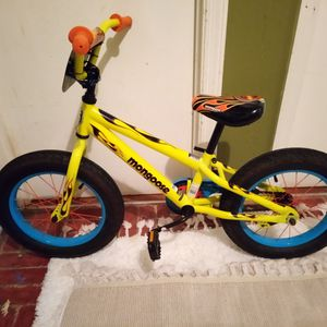 16-in Mongoose Mountain Bike With Fat Tires for Sale in West Columbia, SC