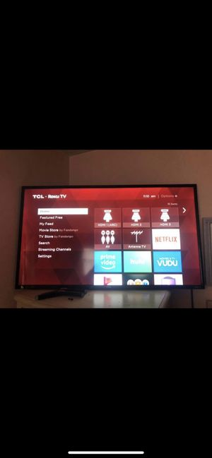 """TCL Roku TV 40"""" for Sale in Trafford, PA"""