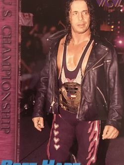 1998 Topps WCW/nWo Bret Hart #70 HoF for Sale in Edwardsville,  IL