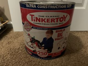 The Classic Tinker Toy Construction Set for Sale in Sterling, VA