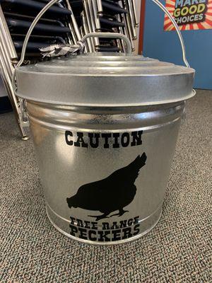 Custom 6 Gallon Galvanized Chicken Bucket with Lid 🐓 for Sale in Corona, CA
