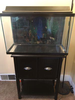 29 gallon fish tank & Stand for Sale in Seattle, WA