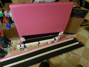 Pink twin bed frame for Sale in Flint, MI