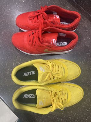 NIKE ID AIR MAX PACK - SZE 11.5 for Sale in Orlando, FL