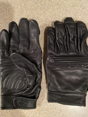Harley Davison motorcycle leather gloves for Sale in Eldersburg, MD