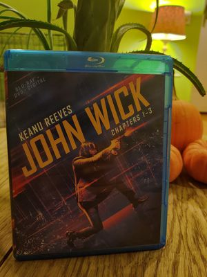 John Wick 1-3 Blu-ray Collection for Sale in South Pasadena, CA