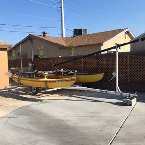 Hobie Catamaran Yellow 14 Foot for Sale in Las Vegas, NV