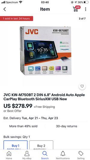 Jvc 750 mt for Sale in Johnson City, TN