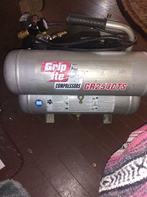 Grip rite air compressor for Sale in Gorst, WA