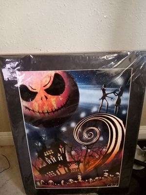 New still sealed nightmare before christmas painting for Sale in Las Vegas, NV