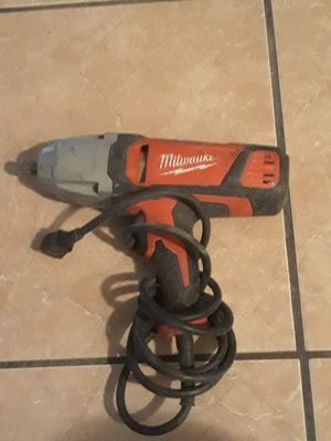 Milwaukee impact wrench for Sale in Las Vegas, NV
