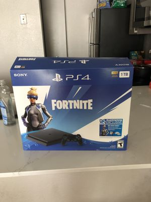 Playstation 4 1TB with Fortnite and MLB The Show 2019 for Sale in Arlington, VA