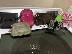 Coin wallets $10 each Coach,Dooney,Vera, for Sale in Fort Worth, TX