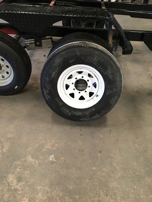 Trailer tires 8 lug 10ply for Sale in Temple, TX