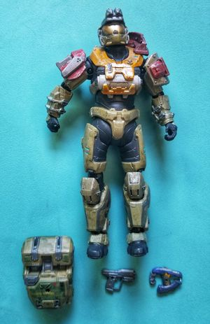 McFarlane toys Halo Noble team six Jorge action figure for Sale in Cypress, TX