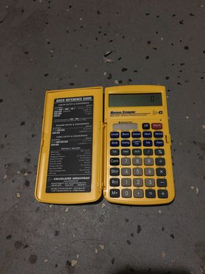 Material estimator for Sale in Oakley, CA