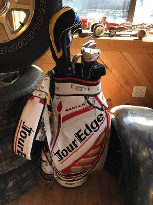 Tour edge golf clubs for Sale in Clinton, MA