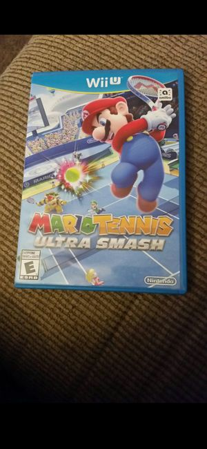 NINTENDO WII U MARIO TENNIS ULTRA SMASH 100%💥💥 for Sale in Escondido, CA