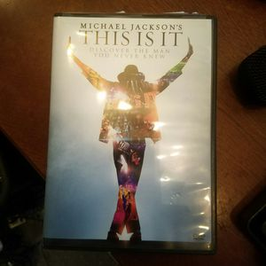 This is it Michael Jackson dvd for Sale in Palm Bay, FL