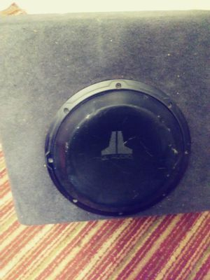 JL audio speaker in box and. Amp. 100watt for Sale in El Cajon, CA