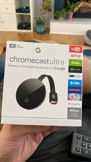 Chromecast ultra for Sale in Burnsville, MN
