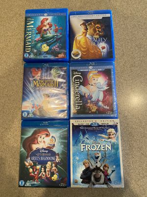 Assorted Disney Princess DVDs for Sale in Lehigh Acres, FL