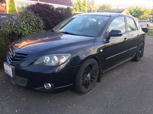 2004 mazda 3 s , 128k manual 5speed for Sale in Everett, WA