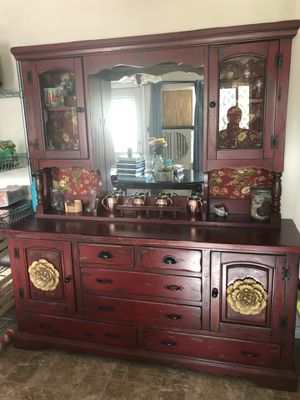 Antique China Hutch for Sale in Bingham Canyon, UT