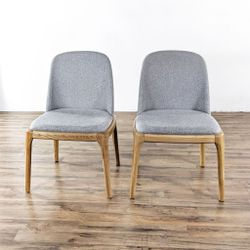 Gray Upholstered Dining Chairs (1034579) for Sale in South San Francisco,  CA