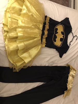 Batgirl costume (kids) for Sale in West Springfield, MA