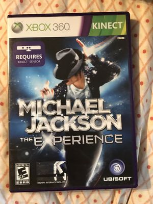 Kinect Xbox 360 game~ Michael Jackson the Experience for Sale in Renton, WA