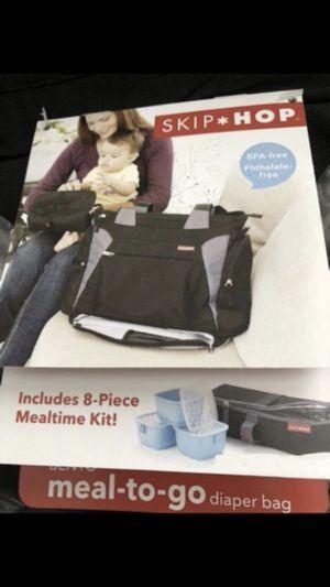 Skip Hop Bento Meal-to-Go Diaper Bag, Black for Sale in Lawrenceville, GA