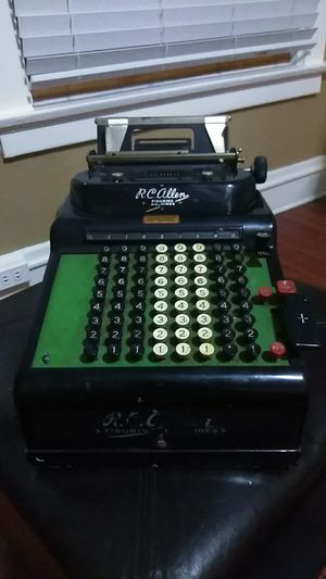 Vintage RC Allen figuring machine(1930s) for Sale in Tacoma, WA