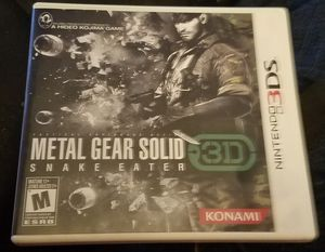 Metal Gear Solid: Snake Eater 3D for Sale in Iowa City, IA