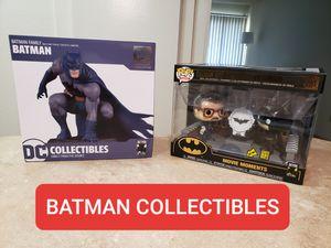 Batman Statue + Funko Collectibles for Sale in Costa Mesa, CA