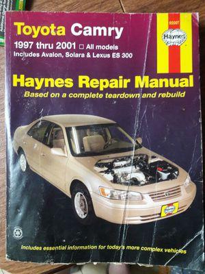 Toyota repair book for Sale in La Puente, CA