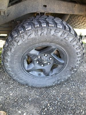 Toyota rims with cooper stt pro tires for Sale in Keizer, OR