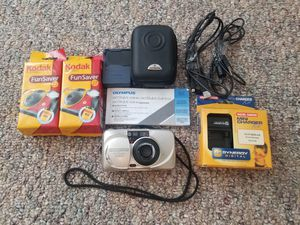 Set of Olympus stylus camera with film for Sale in Clermont, FL