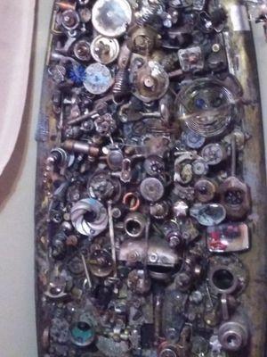 Scrap metal art surfboard /steampunk surfboard for Sale in Long Beach, CA