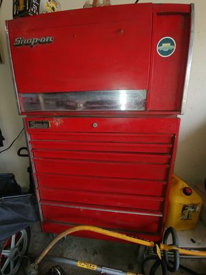 Snap-On top and bottom tool box for Sale in Houston, TX