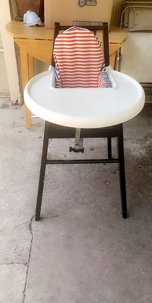 Baby high chair wood for Sale in Los Angeles, CA