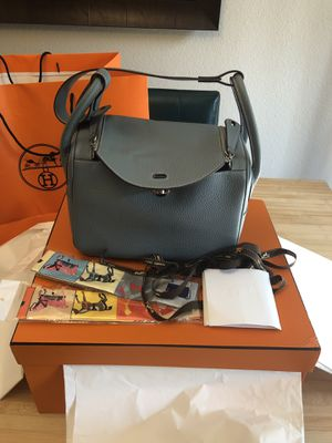 Slightly used Lindy 26 Blue Jean Silver Hardware, comes with original box and dust bag for Sale in Arcadia, CA