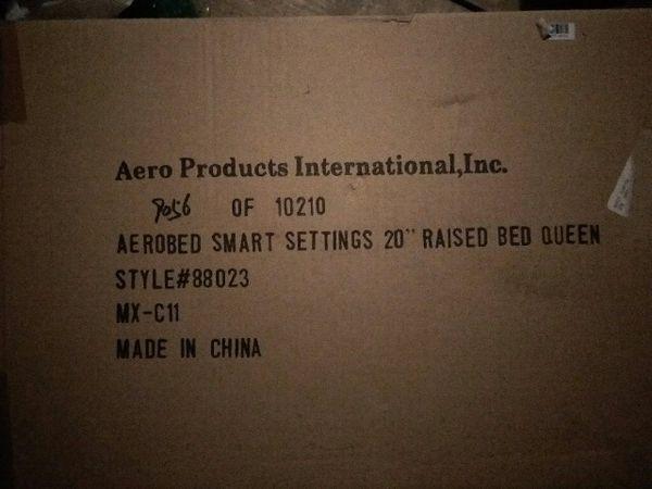 AEROBED Mattress Air Bed Brand New