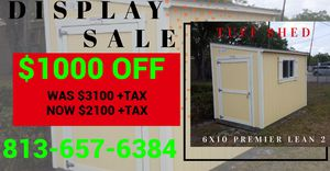 6x10 Shed for Sale in Tampa, FL