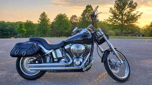 2004 Harley Softail Deuce FLSTDI for Sale in Blue Grass, IA