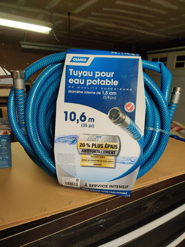 Camco 35' Premium Drinking Water Hose for RV / Camper / Motorhome / Trailer