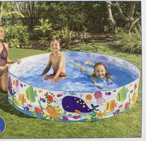 6ft x 1.5 round Pool for Sale in Visalia, CA