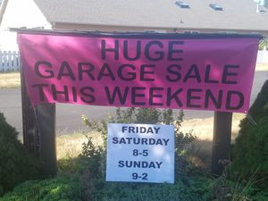 Friday Saturday Sunday sale for Sale in Lynnwood, WA