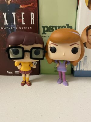 (Out of Box) Funko Pops Animation Scooby-Doo Daphne and Velma for Sale in San Diego, CA