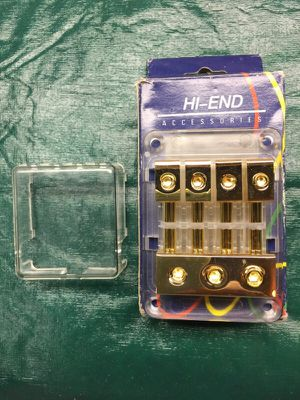 ATC FUSE BLOCK 24K Gold Plated for Sale in Sumner, WA